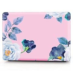 "tanie Torby na laptopa-Etui na MacBook Kwiat Plastik na Nowy MacBook Pro 15"" / Nowy MacBook Pro 13"" / MacBook Pro 15 cali"