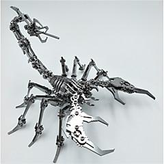 baratos -Quebra-Cabeças 3D Escorpião Animal Criativo / Legal Aço Inoxidável Adulto / Adolescente Dom