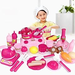 Χαμηλού Κόστους Παιχνίδια κουζίνα και τροφές-Παιχνίδια ρόλων Φαγητό & Ποτό Αλληλεπίδραση γονέα-παιδιού Παιδικά / Προσχολικός Δώρο 30pcs
