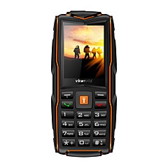 "billiga Mobiltelefoner-vkworld Vkworld New Stone V3 IP68 3000mAh 2.4 Inch 3 SIM Cards 2MP Waterproof Outdooors Mobile Phone 2.4tum "" Mobiltelefon ( 64MB + 64MB"
