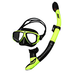 billiga Dykmasker, snorklar och simfötter-Snorklingspaket / Dykning Paket - Dykmaske, Snorkel - Anti-dimma, Torrdräkt – överdel Simmning, Dykning Silikon, FRP  För Vuxen