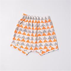 billige Babyunderdele-Baby Unisex Basale Farveblok Bomuld Bukser
