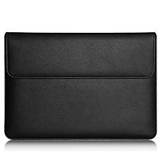 billiga Laptop Bags-PU läder Enfärgad Ärmar iPad