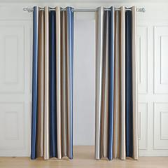 verduisteringsgordijnen gordijnen woonkamer gestreept 100 polyester relief