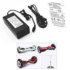 cheap Scooters, Skateboarding & Rollers-Electric Battery Charger Power Adapter / Cable for Smart Balancing Scooter 42V 2A Input 100-240V AC for Caster Board Hoverboard