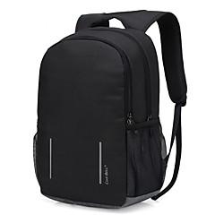"""billiga Laptop Bags-Nylon Enfärgad Ryggsäckar 17 """"bärbar dator / 15 """"bärbar dator"""