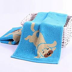 billiga Handdukar och badrockar-Överlägsen kvalitet Tvätt handduk, Tecknat Polyester / Bomull Blandning / 100% bomull 1 pcs