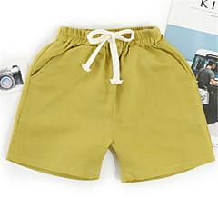 billige Babyunderdele-Baby Unisex Basale Ensfarvet Shorts