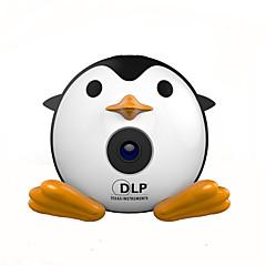 お買い得  プロジェクター-UNIC Q1+WIFI DLP ミニプロジェクター LED プロジェクター 40 lm サポート 1080P (1920x1080) 7-80 インチ スクリーン / nHD (640x360)