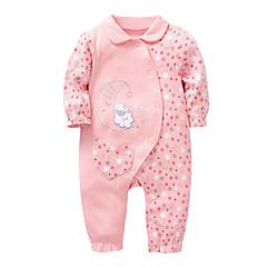 billige Babytøj-Baby Unisex Blomstret Langærmet En del