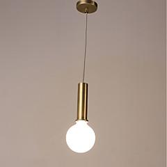billiga Dekorativ belysning-Mini Hängande lampor Fluorescerande Elektropläterad Målad Finishes Metall Matt 220-240V Glödlampa inte inkluderad
