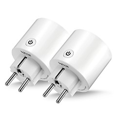 tanie Telefony i elektronika-WAZA Smart Plug SP06 na Kuchnia / Salon / Sypialnia Smart / Kontrola APP / Kontrola WIFI 100-240 V