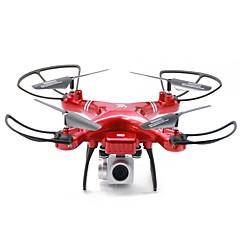 billige Fjernstyrte quadcoptere og multirotorer-RC Drone A806 BNF 4 Kanaler 6 Akse 2.4G Med HD-kamera 2.0MP 720P Fjernstyrt quadkopter En Tast For Retur / Hodeløs Modus / Flyvning Med