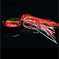 cheap Fishing Lures & Flies-1 pcs Fishing Lures Hard Bait / Jig Head Lead / Metalic Sea Fishing / Fly Fishing / Bait Casting / Ice Fishing / Spinning / Jigging Fishing / Freshwater Fishing / Carp Fishing