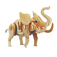 cheap -Wooden Puzzle / Logic & Puzzle Toy Jurassic Dinosaur / Elephant School / New Design / Professional Level Wooden 1 pcs Kid's / Teen All Gift