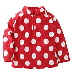 billige Babyoverdele-Baby Pige Prikker Langærmet Bluse