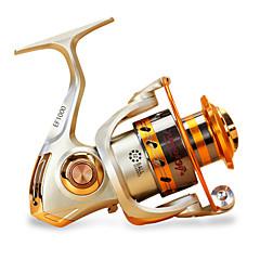 billiga Fiskerullar-Fiskerullar Snurrande hjul 5.5/1 Växlingsförhållande+12 Kullager Hand Orientering utbytbar Sjöfiske / Karpfiske