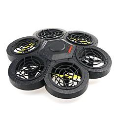 billige Fjernstyrte quadcoptere og multirotorer-RC Drone JJRC NH012 RTF 6 Akse 2.4G Fjernstyrt quadkopter Fjernstyrt Quadkopter / Fjernkontroll / 1 Batteri Til Drone