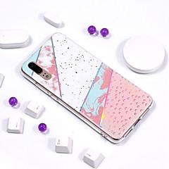 billige Telefoner og nettbrett-Etui Til Huawei P20 Pro / P20 lite Belegg / IMD / Mønster Bakdeksel Marmor Myk TPU til Huawei P20 / Huawei P20 Pro / Huawei P20 lite