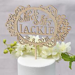 billige Kakedekorasjoner-Kakepynt Klassisk Tema / Bryllup Kjærlighed Tre / Bambus Bryllup / jubileum med 1 pcs OPP