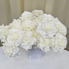 billige Kunstige blomster-Kunstige blomster Gren Klassisk Pastorale Stilen Evige blomster Gulvblomst