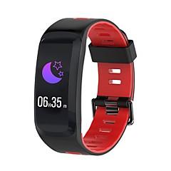 tanie Inteligentne zegarki-Inteligentne Bransoletka NO.1 F4 na Android iOS Bluetooth Wodoodporny Pomiar ciśnienia krwi Ekran dotykowy Spalonych kalorii Długi czas czuwania Krokomierz Powiadamianie o połączeniu telefonicznym