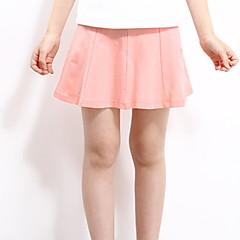 billige Pigenederdele-Børn Pige Basale Ensfarvet Nederdel