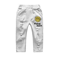 billige Bukser og leggings til piger-Børn / Baby Pige Ensfarvet Bukser
