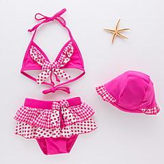 billige Badetøj til piger-Børn / Baby Pige Prikker Badetøj