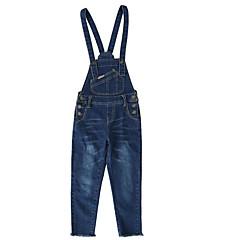 billige Bukser og leggings til piger-Børn Pige Basale Ensfarvet Overall og jumpsuit