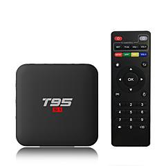 billige TV-bokser-PULIERDE T95S1-1 Tv Boks Android 7.1 Tv Boks Amlogic S905W 2GB RAM 16GB ROM Kvadro-Kjerne Nytt Design