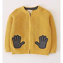 billige Sweaters og cardigans til drenge-Børn Drenge Geometrisk Langærmet Trøje og cardigan