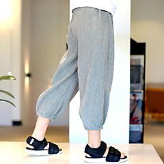 tanie Odzież dla chłopców-Brzdąc Dla chłopców Podstawowy Jendolity kolor Spodnie