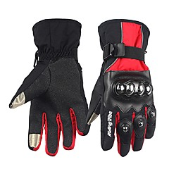 cheap Motorcycle Gloves-Riding Tribe Motorcycle Gloves Winter Warm Waterproof Touchscreen Protector Gear Gauntlet Motorbike Racing Guantes