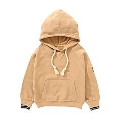 billige Hættetrøjer og sweatshirts til drenge-Børn / Baby Drenge Trykt mønster Langærmet Hættetrøje og sweatshirt