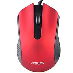 billiga Möss-ASUS USB-kabel kontor Mus / ergonomisk mus Optical AE-01 3 pcs nycklar 1000 dpi