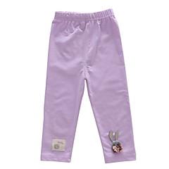 tanie Odzież dla dziewczynek-Brzdąc Dla dziewczynek Podstawowy Jendolity kolor Spodnie
