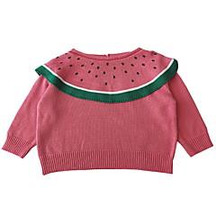 Χαμηλού Κόστους Βρεφικά πουλόβερ και ζακέτες-Μωρό Κοριτσίστικα Ριγέ Μακρυμάνικο Πουλόβερ & Ζακέτα