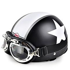 Χαμηλού Κόστους Κράνη & Μάσκες-HEROBIKER TK-01 Μισό Κράνος Ενήλικες / Εφηβικό Όλα / Γιούνισεξ Κράνος Μοτοσικλέτας Anti-Wind / Anti-σκόνη / Θερμική / Warm