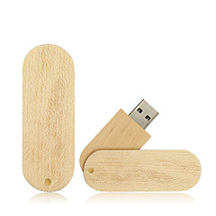 tanie Pamięć flash USB-Mrówki 64 GB Pamięć flash USB dysk USB USB 2.0 Drewno / Bambus Obrotowy