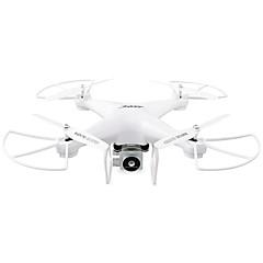 billige Fjernstyrte quadcoptere og multirotorer-RC Drone JJRC H68 RTF 4 Kanaler 6 Akse 2.4G Med HD-kamera 2.0MP 720P Fjernstyrt quadkopter Fjernstyrt Quadkopter / Fjernkontroll / Kamera