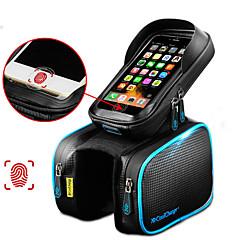 お買い得  自転車用バッグ-CoolChange 携帯電話バッグ / 自転車用フレームバッグ / トップチューブバッグ 6.2 インチ タッチスクリーン, 防水, 反射 サイクリング のために Samsung Galaxy S6 / iPhone 5c / iPhone 4/4S / iPhone 8/7/6S/6 / iPhone 8 Plus / 7 Plus / 6S Plus / 6 Plus