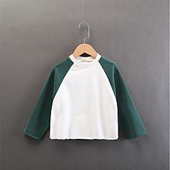 billige Hættetrøjer og sweatshirts til piger-Børn Pige Patchwork Langærmet Hættetrøje og sweatshirt