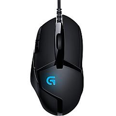 Χαμηλού Κόστους Ποντίκια-Factory OEM Ενσύρματο USB Gaming Mouse / γραφείο του ποντικιού Οπτικό G402 8 pcs κλειδιά 4 Ρυθμιζόμενα επίπεδα DPI 8 προγραμματιζόμενα πλήκτρα 420-4000 dpi