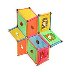 tanie Klocki magnetyczne-Magnetyczne pałeczki / Płytki magnetyczne 84 pcs Geometryczny wzór Wszystko Prezent