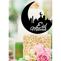 billige Kakedekorasjoner-Kakepynt Religiøs Religiøs Plast Spesiell Leilighet med Akryl 1 pcs PVC Veske