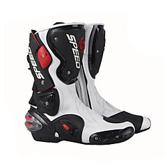 cheap Motorcycle Protection Gear-Riding Tribe Professional Racing Motocross Boots Men's High Cylinder Boots Fashion Leather Motorcycle Boots