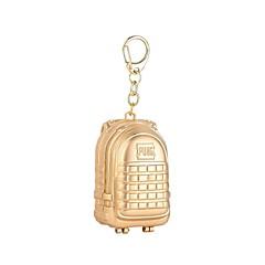 baratos Chaveiros-Medalhão Chaveiro Dourado / Prata / Cinzento Liga De Pressão, Desenho Para Diário / Rua