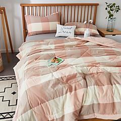 billiga Täcken och överkast-Bekväm - 1 st. Sängöverkast Sommar Bomull Geometrisk