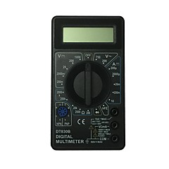 tanie Instrumenty elektryczne-dt830b-1000v czarny ręczny multimetr cyfrowy LCD do użytku domowego i samochodowego